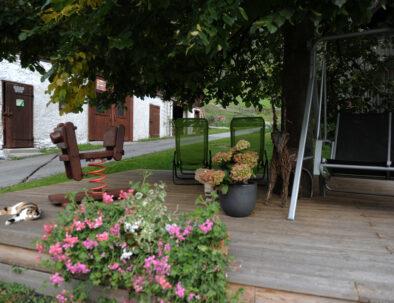 Garten/Terrasse Steinbachhof